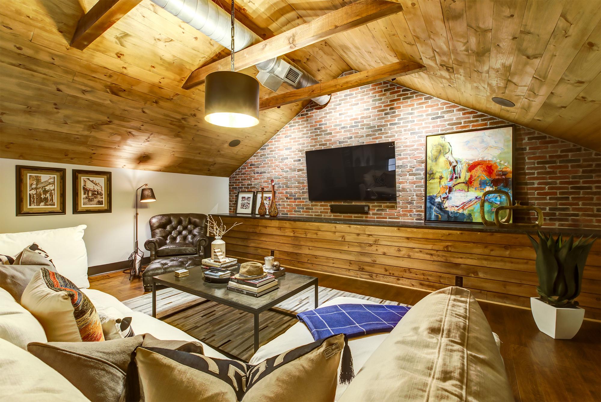 cozy attic remodel